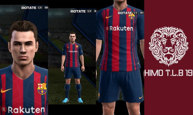 PES 2013 FC Barcelona 2017-18 GDB Kits af4bf1a2e