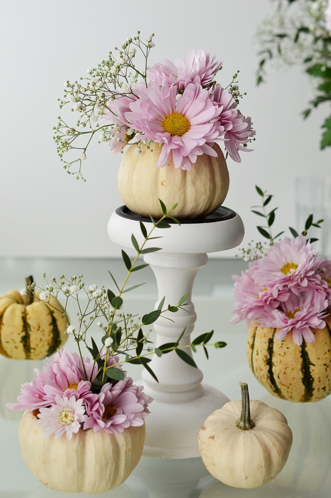 DIY Pumpkin Vases | Motte's Blog