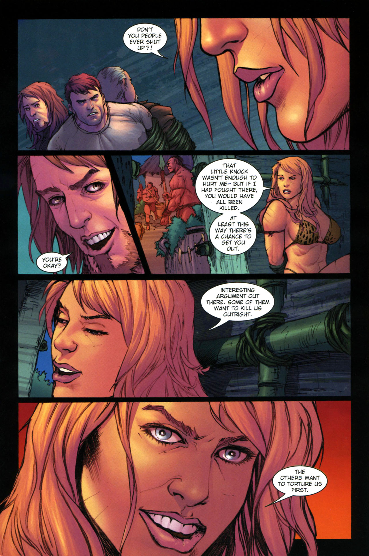 Read online Jungle Girl comic -  Issue #3 - 12