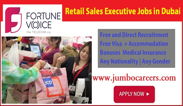 Dubai Current sales jobs with benefits, salary details of sales jobs in UAE,