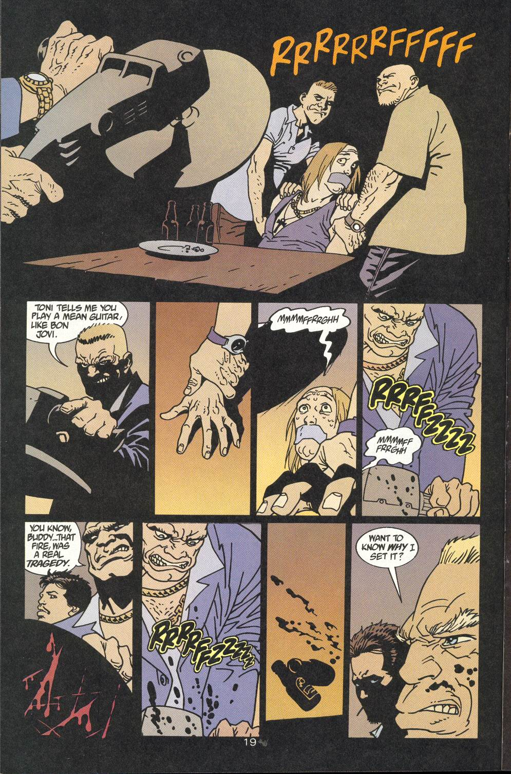 Read online 100 Bullets comic -  Issue #9 - 21