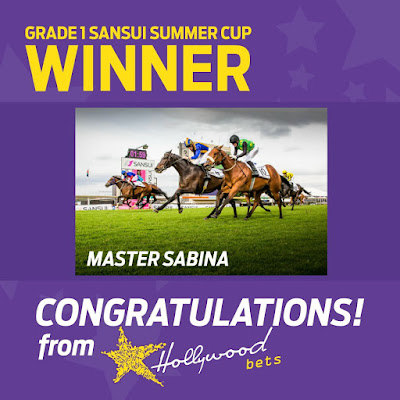 Master Sabina - 2016 Sansui Summer Cup Winner - Turffontein - 26th November 2016