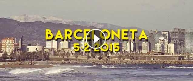 Surf Barceloneta 5 de Febrer de 2015