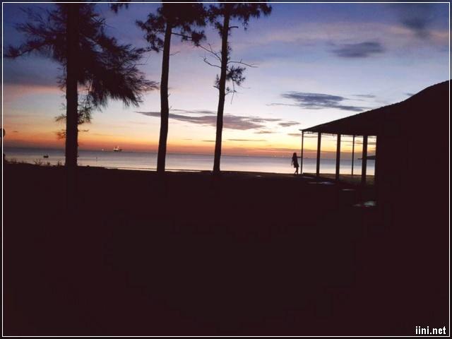Biển Cửa Lò lúc bình minh, sáng sớm