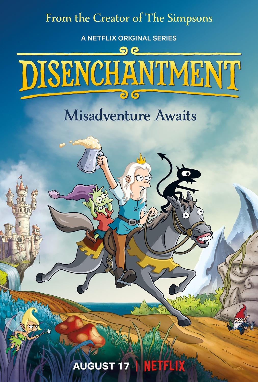 Разочарование, Фэнтези, Обзор, Рецензия, Disenchantment, Fantasy, Review, 2018, Netflix