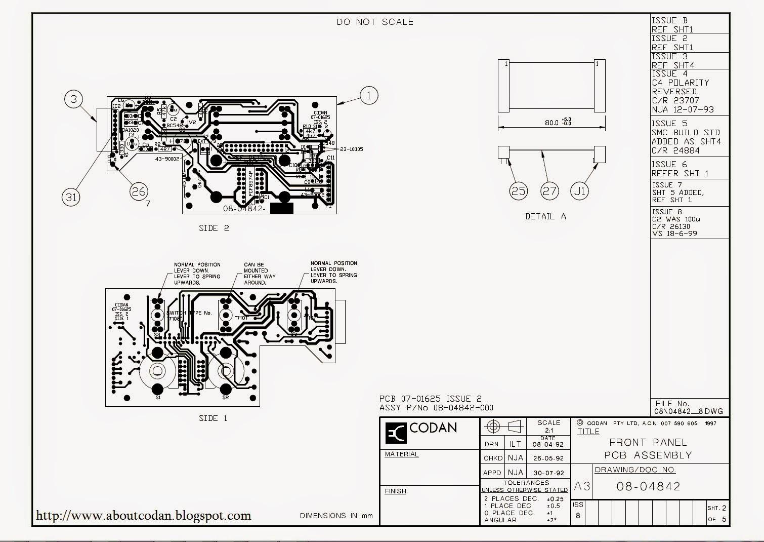 Schematic X2 – The Wiring Diagram