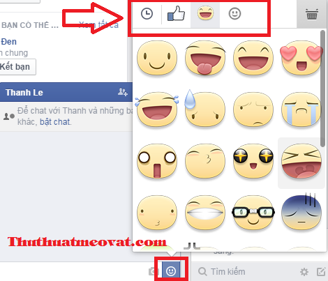 Nhãn dán Sticker Facebook