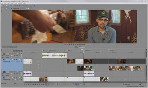 Software edit video terbaik yang bisa dicoba - Sony Vegas