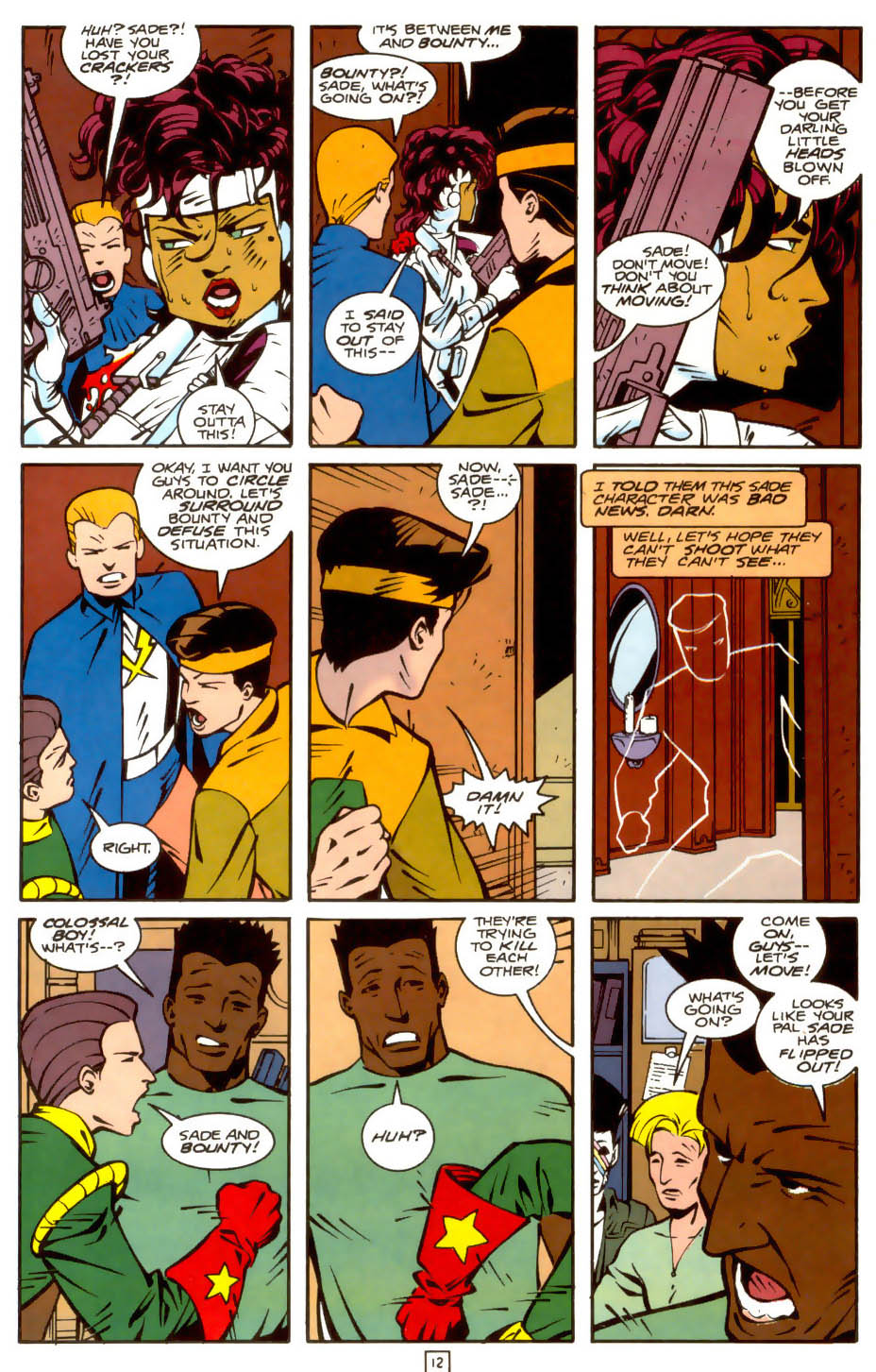 Legion of Super-Heroes (1989) 36 Page 12