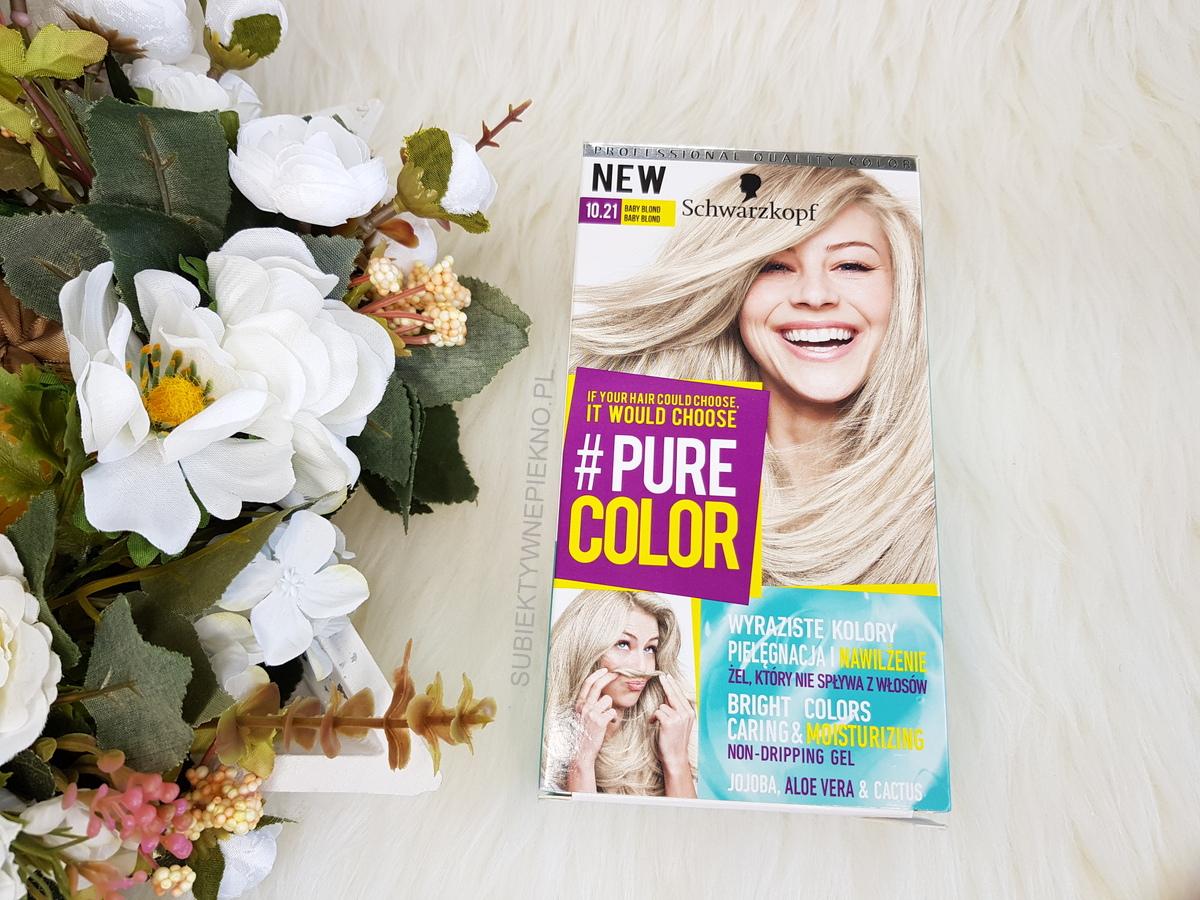 Schwarzkopf Pure Color 10.21 Baby Blond | Żelowa farba do włosów