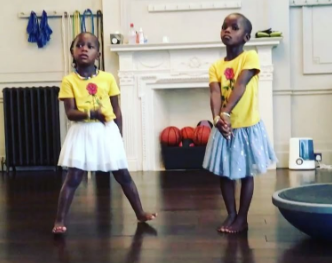 Madonna Shares Video Of Her Twin Girls Performing A Dance Routine To Shakira's Waka Waka