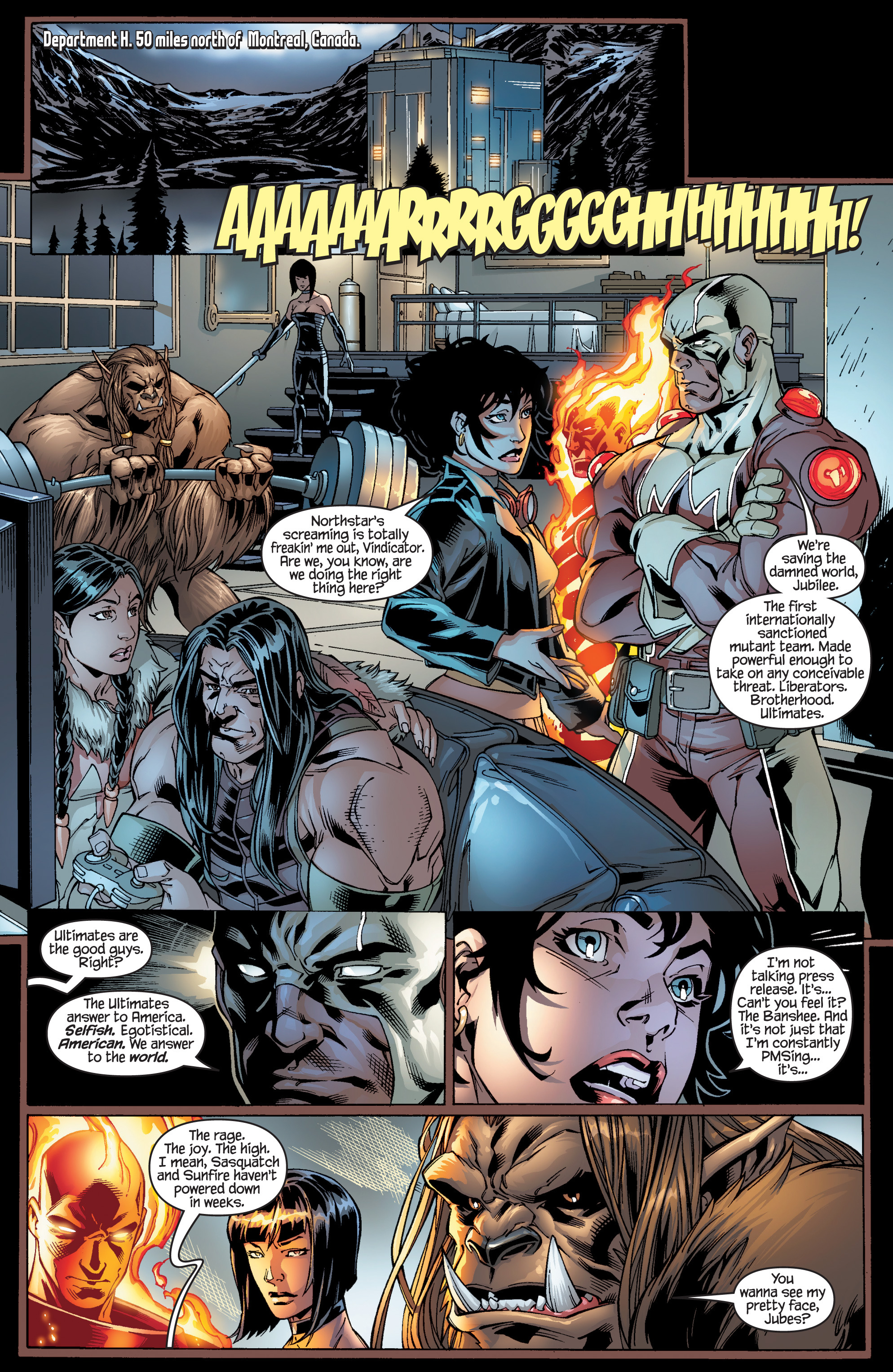 Read online Ultimate X-Men comic -  Issue #95 - 12