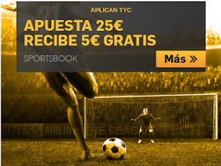 betfair apuesta 25 euros y recibe 5 euros gratis 22-23 abril