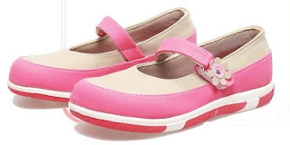 Sepatu Anak Perempuan  Tanpa Tali BAS 589