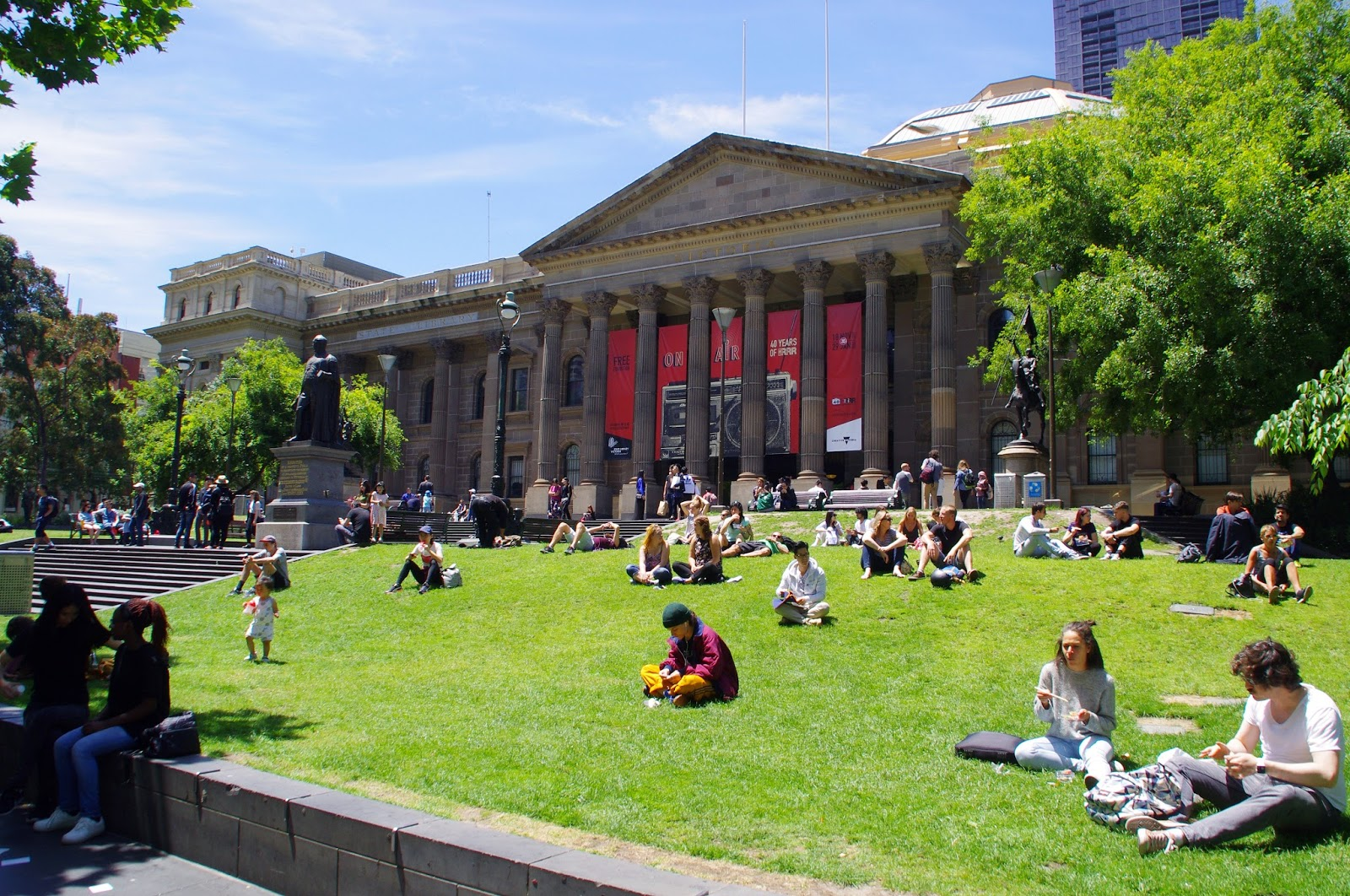 Melbourne State Library