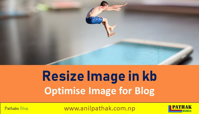 Resize Image in kb - resize image for website - image optimisation