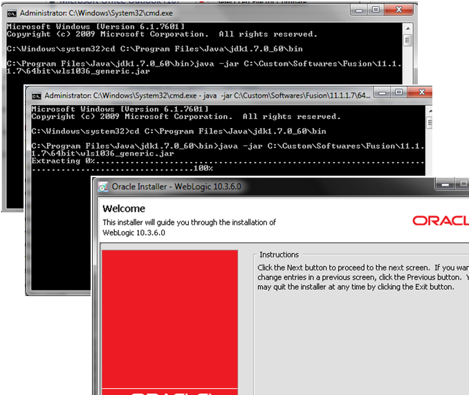Weblogic10.3.6_Installation_Start