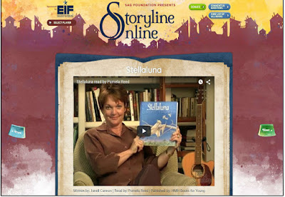 Stellaluna read by Pamela Reed on Storyline Online
