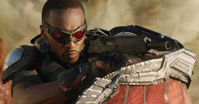 Anthony Mackie aka The Falcon