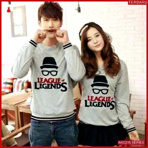 AKC216S39 Sweater Couple Legends Anak 216S39 Pasangan BMGShop