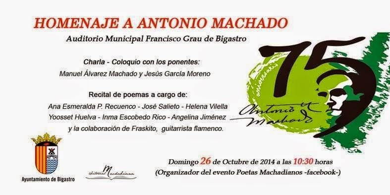 El Blog de María Serralba - Antonio Machado, un poeta en el recuerdo.