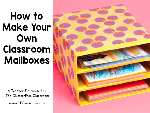Are you wondering how to make classroom mailboxes? This classroom management tip will be helpful to elementary teachers.