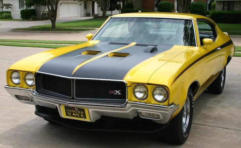 New Cars Specification 1970 Buick GSX Stage 1 Ten Fastest Muscle Car