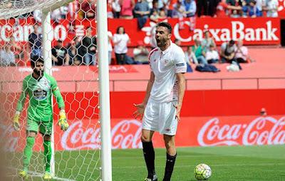 Crónica Sevilla FC 1 Vs Deportivo de la Coruña 1