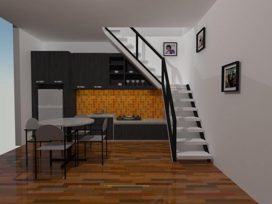 model tangga rumah minimalis terbaru 11