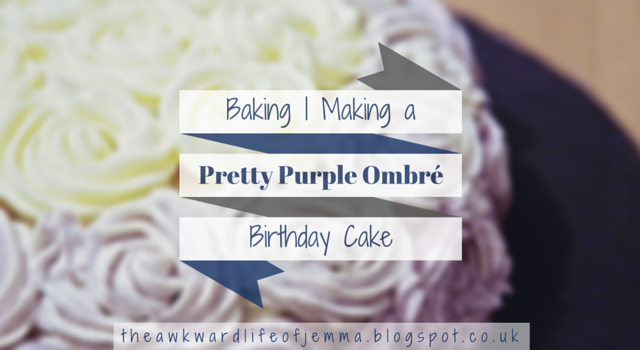 Title Image for Making an Ombre Cake