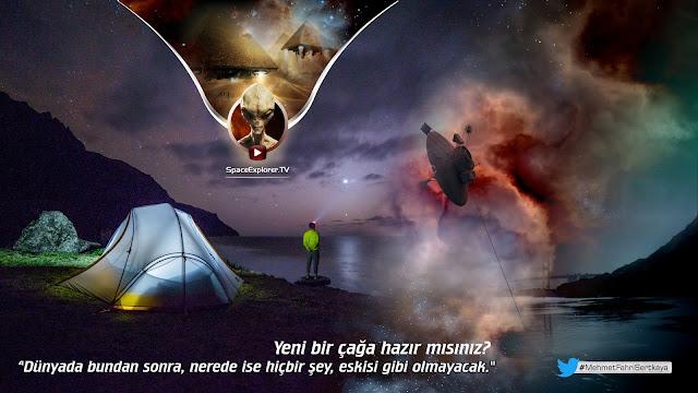 akademi dergisi, Mehmet Fahri Sertkaya, bilim kurgu, nasa, Komplo teorileri, Titan, uydu, uzay araçları, jüpiter, satürn,