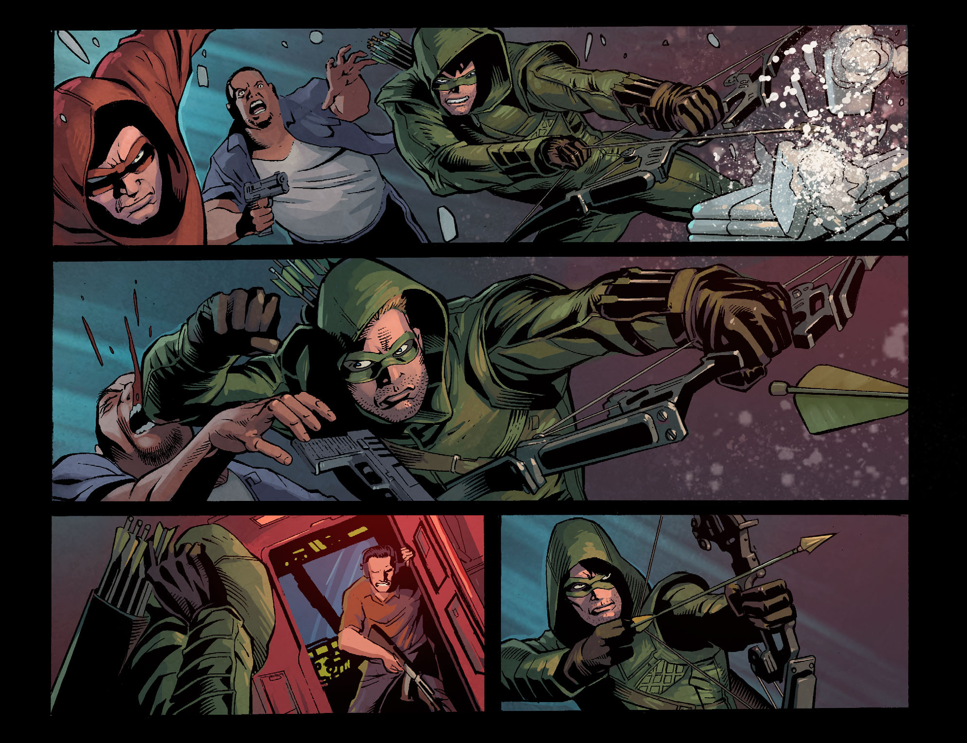 Read online Arrow: Season 2.5 [I] comic -  Issue #1 - 14