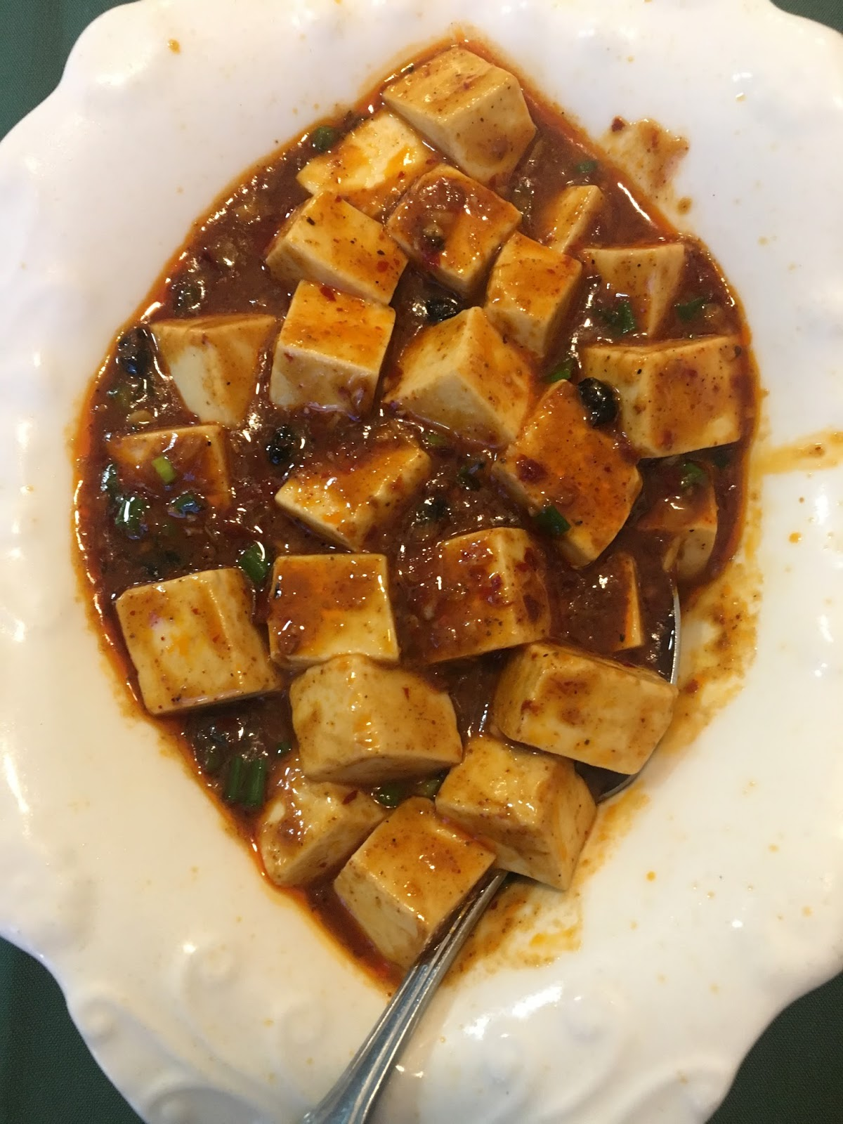 mabo tofu at Cooking Girl - A Chinese restaurant, in Houston