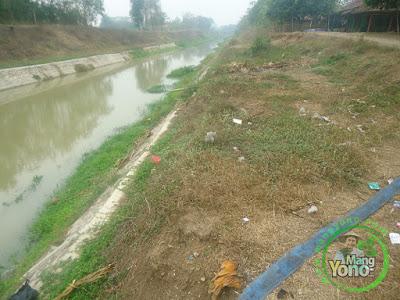 FOTO 3 : Sungai Ciasem / Bendung Macan dusun Gardu