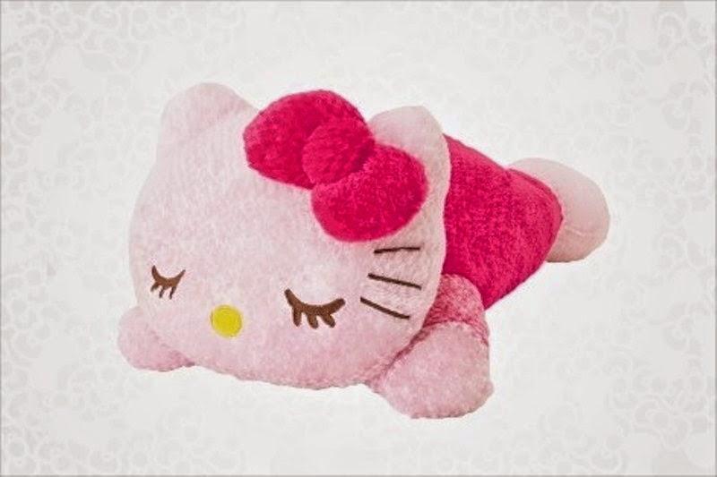 Gambar gratis hello kitty tidur lucu banget