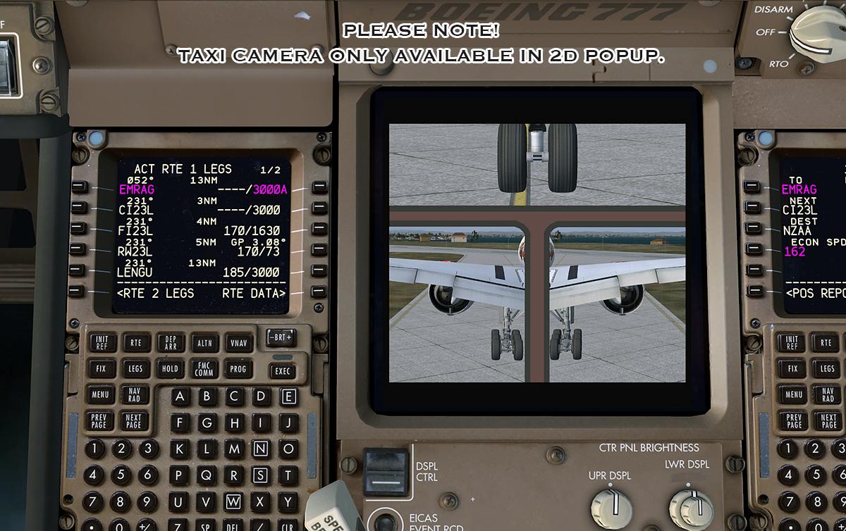 Addons FSX FS9 Enjoyfi tk: PMDG Boeing 777 SP1 C - FSX