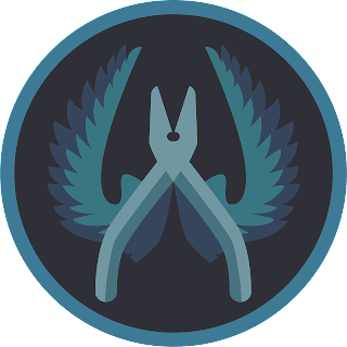 Baixar vetor Logo CT do CS GO illustrator gratis