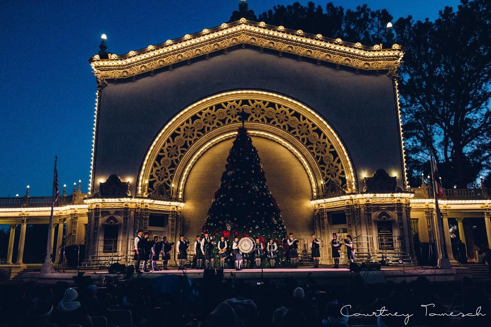 Courtney Tomesch Balboa Park December Nights 2016