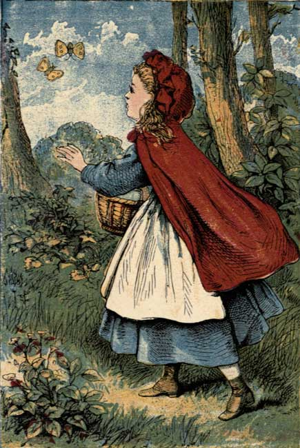 The fall of red riding hood