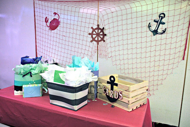 Oriental Trading Baby Shower, Oriental Trading Nautical theme, Oriental Trading baby shower games, Nautical baby shower ideas, whale baby shower, simple baby shower games, nautical Themed baby shower food, boy baby shower
