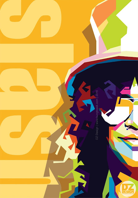 WPAP of Slash - Gun N' Roses