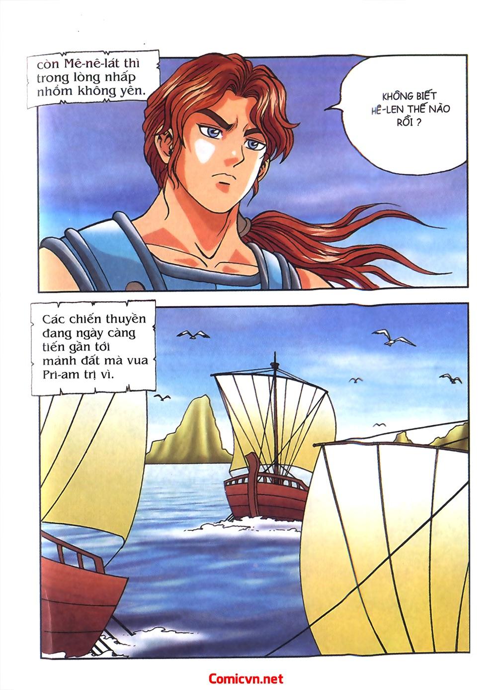 Thần Thoại Hy Lạp Màu - Chapter 54: Tiến về thành Troy - Pic 19