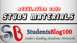 ANNA UNIVERSITY SECOND SEMESTER STUDY MATERIALS