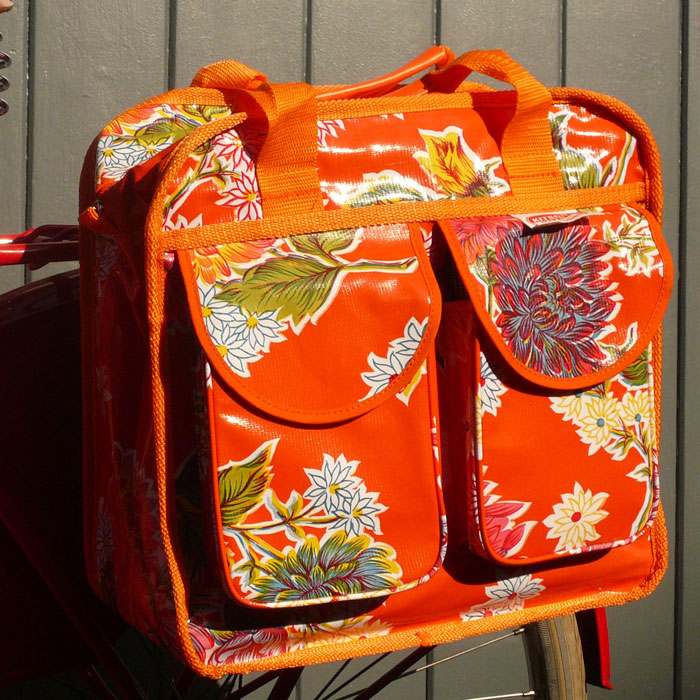 Bicycle Kitchen: The Bicycle Muse: Kitsch Kitchen Pannier Bags
