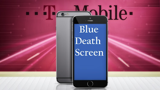 T-Mobile iPhone Users Report Blue Screens of Death