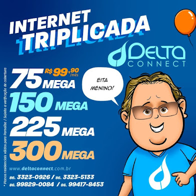 INTERNET TRIPLICADA - Delta Connect