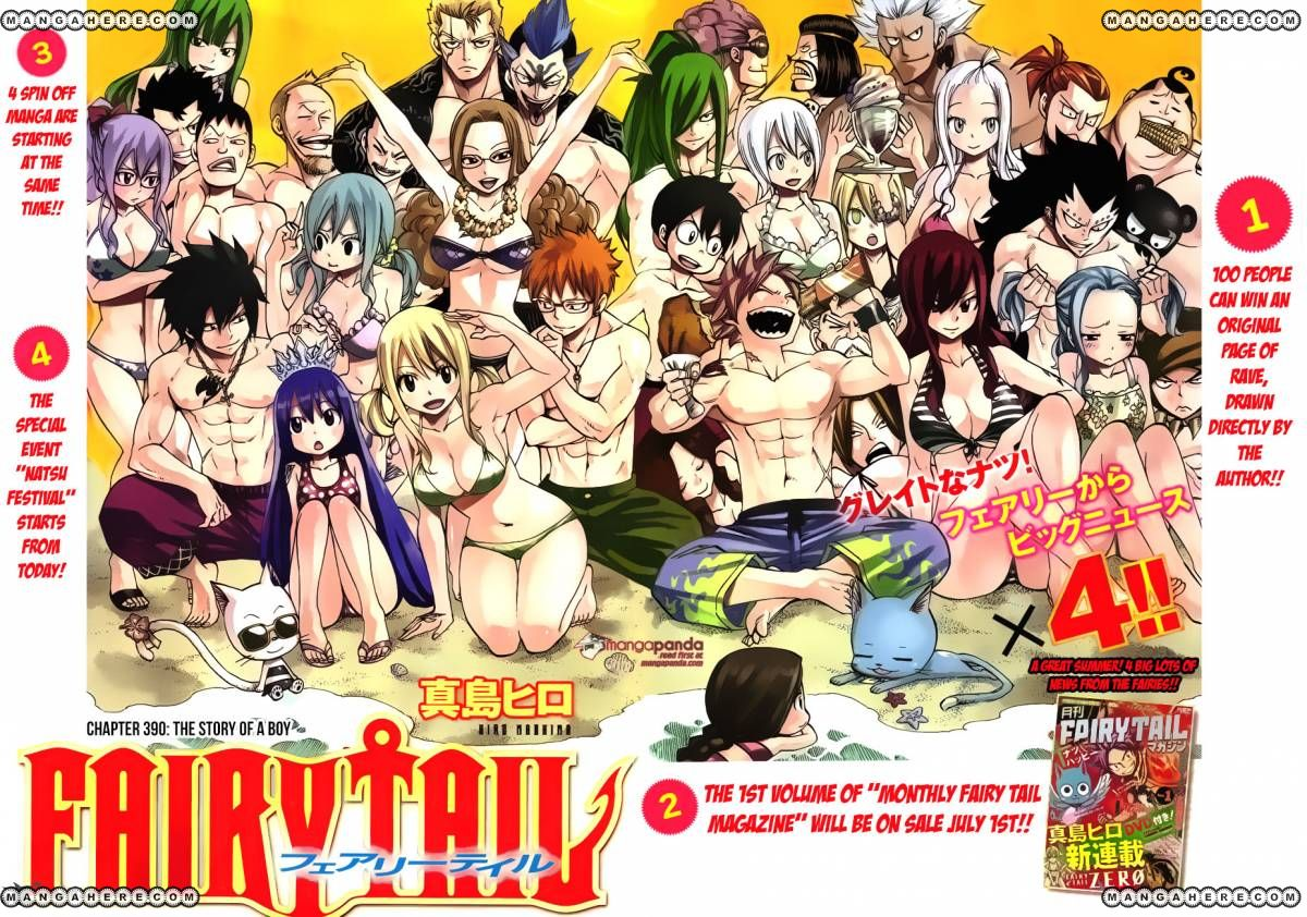 Fairy Tail 390: The story of a boy