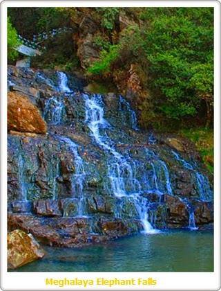 Elephant Falls, Shillong (Meghalaya)