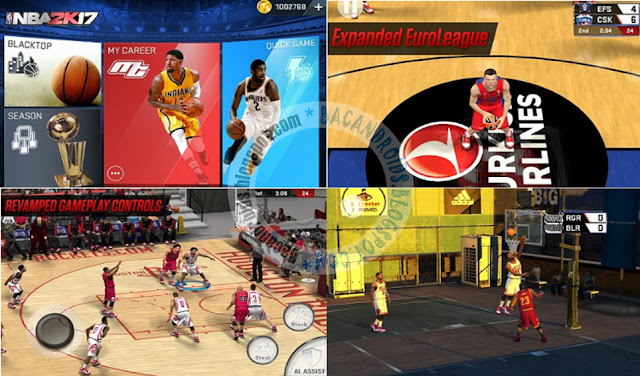 Game NBA 2K17 Apk Date updated v0.0.27 Mod Money unlimited