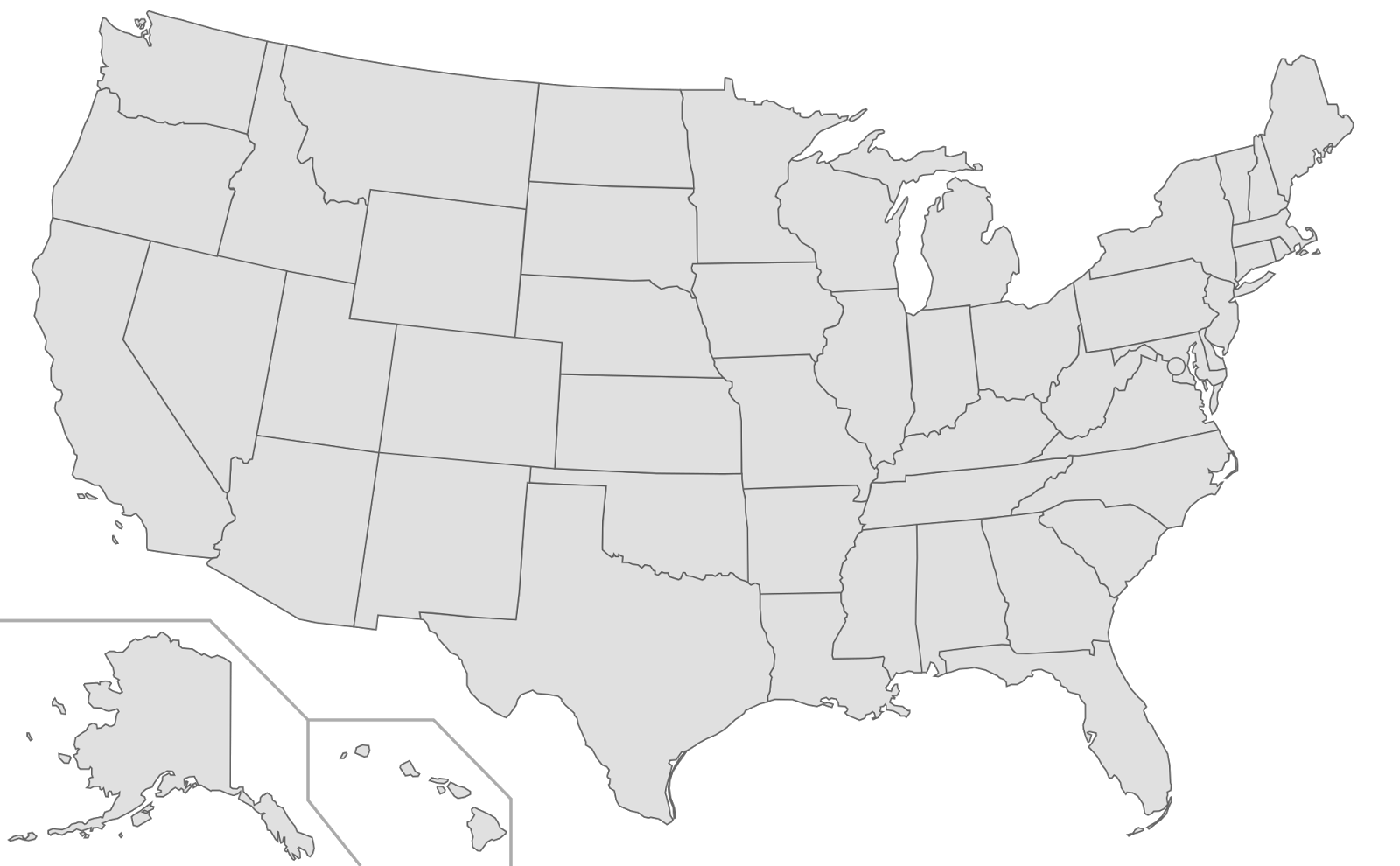 us map 52 states do you know that there are 52 states in the usa